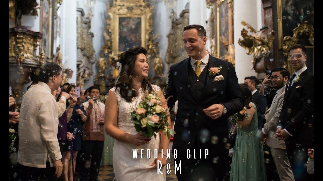 R+M Wedding Clip