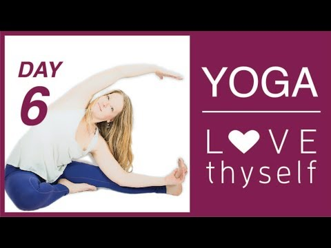 Day 6💗Love Thyself Yoga Journey-Surround Yourself in a Love Bubble   Love Yourself Yoga Challenge