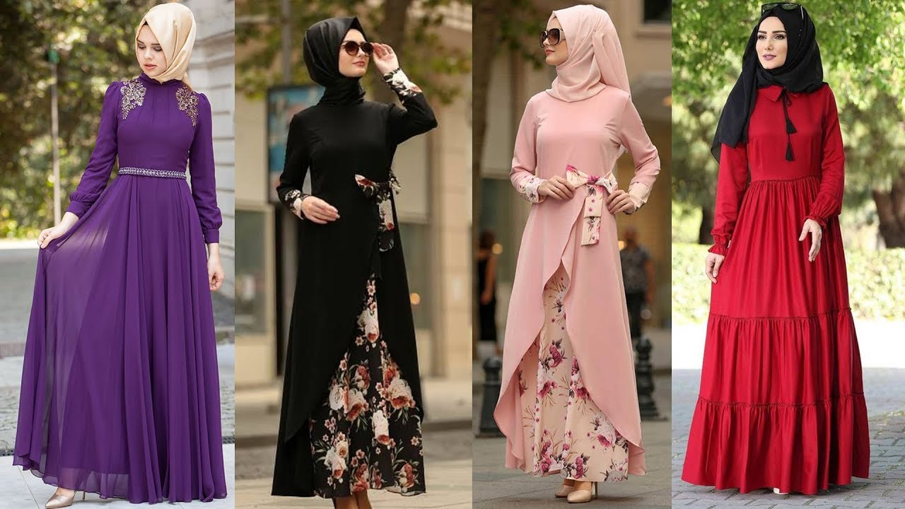 e965625a28 Latest Pakistani Eid Dresses for Girls With Hijab Styles | Eid Collection  2019