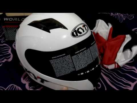[UNBOXING + REVIEW]HELM KYT R10 FULLFACE! #Indonesia