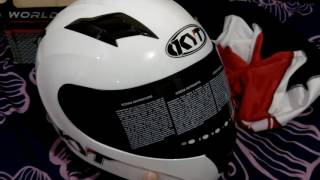 [UNBOXING + REVIEW]  HELM KYT R10 FULLFACE! #Indonesia