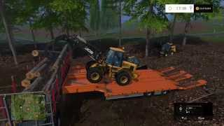 FARMING SIMULATOR 15 XBOX ONE LOGGING/FORESTY PART 7