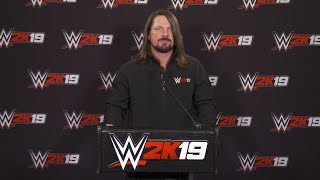 WWE 2K19 Press Conference @ 8:00 am PT