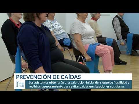 Nuevos talleres de prevención de caídas en Santander