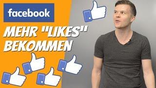 Mehr Likes bei Facebook bekommen ►► auch für Instagram geeignet [Deutsch]