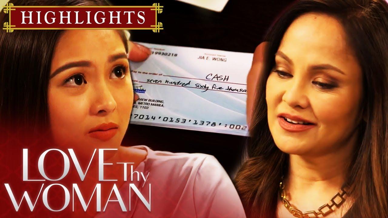 Download Jia, binayaran agad ng cash si Lucy | Love Thy Woman (With Eng Subs)