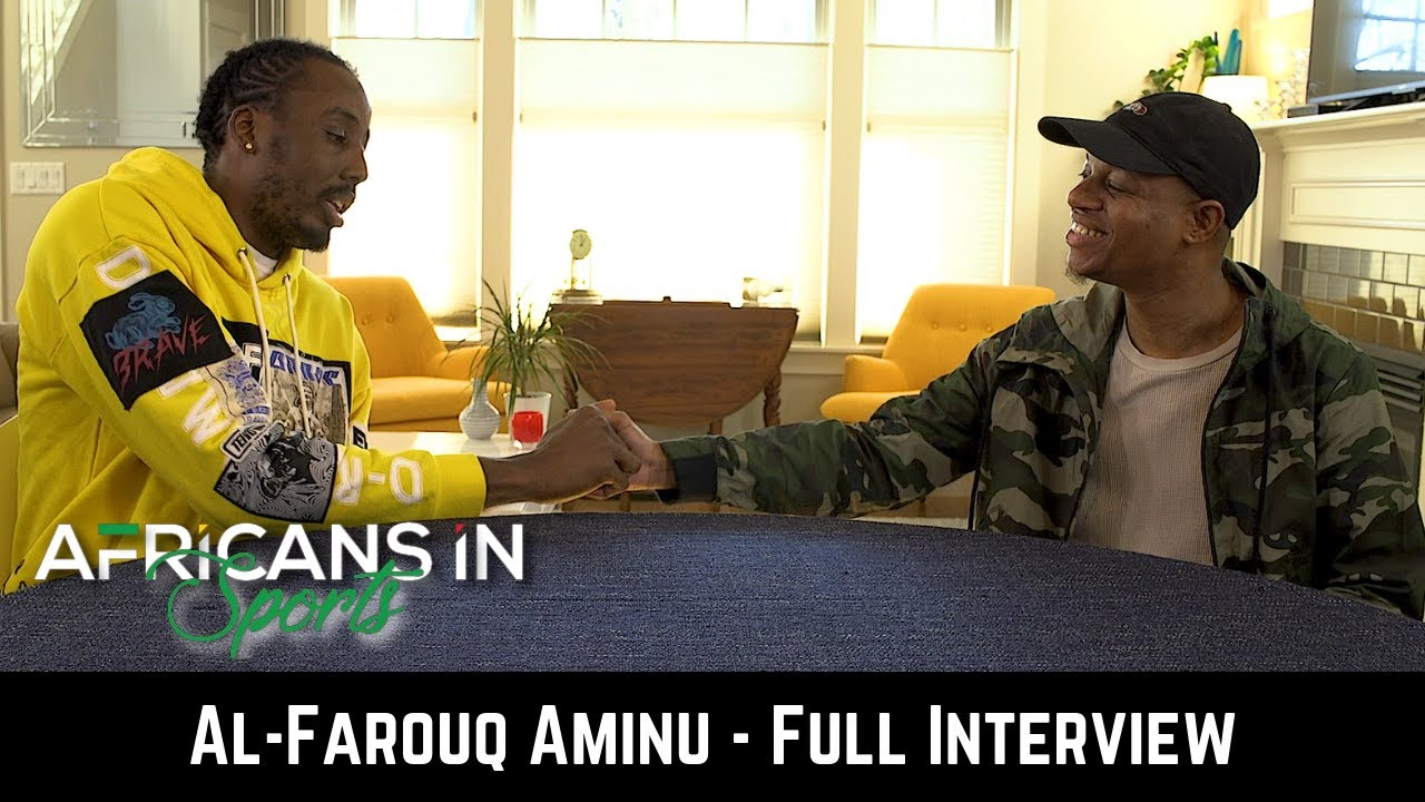 AIS S1E2 Al-Farouq Aminu Dives Into What it Means to Be a Nigerian Basketball Player