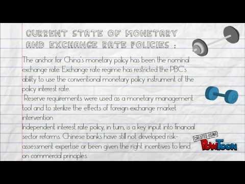 Monetary Policy Of China