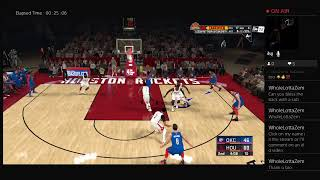 2K20 My Career Rockets Vs Oklahoma Must Watch To See Happens It Was A Off  Game Not I Expect It Be