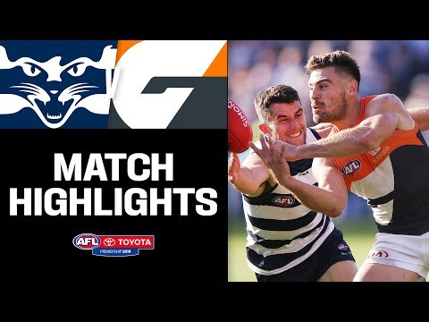 Flag Fancies Duke It Out | Geelong V GWS Highlights | Round 4, 2019 | AFL