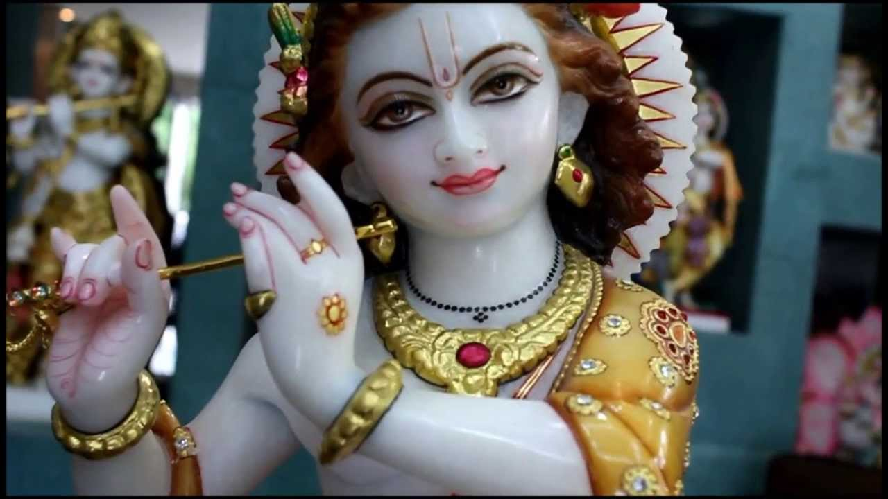 Krishna Statue Krishna Murti Krishna Idol From Marble Youtube