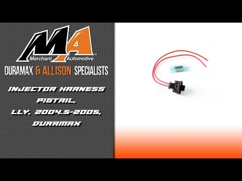 Product Spotlight LLY Injector Harness Pigtail 2004 5 2005