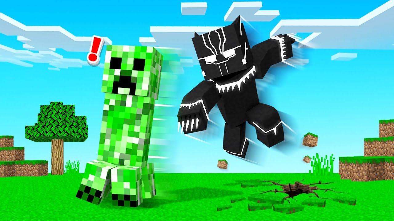 Download Playing MINECRAFT As BLACK PANTHER!