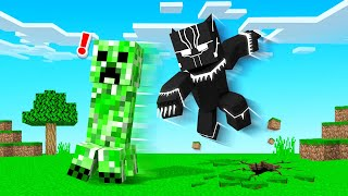 Playing MINECRAFT As BLACK PANTHER!