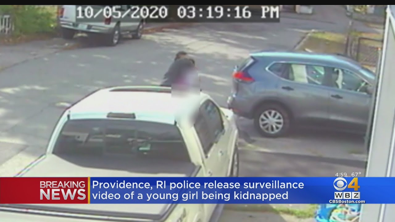 Chilling Moment Stranger Kidnaps 9 Year Old After She Gets Off School Bus In Rhode Island