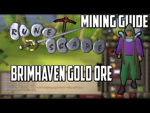[2007] RuneScape Mining Guide: Brimhaven Gold Mining
