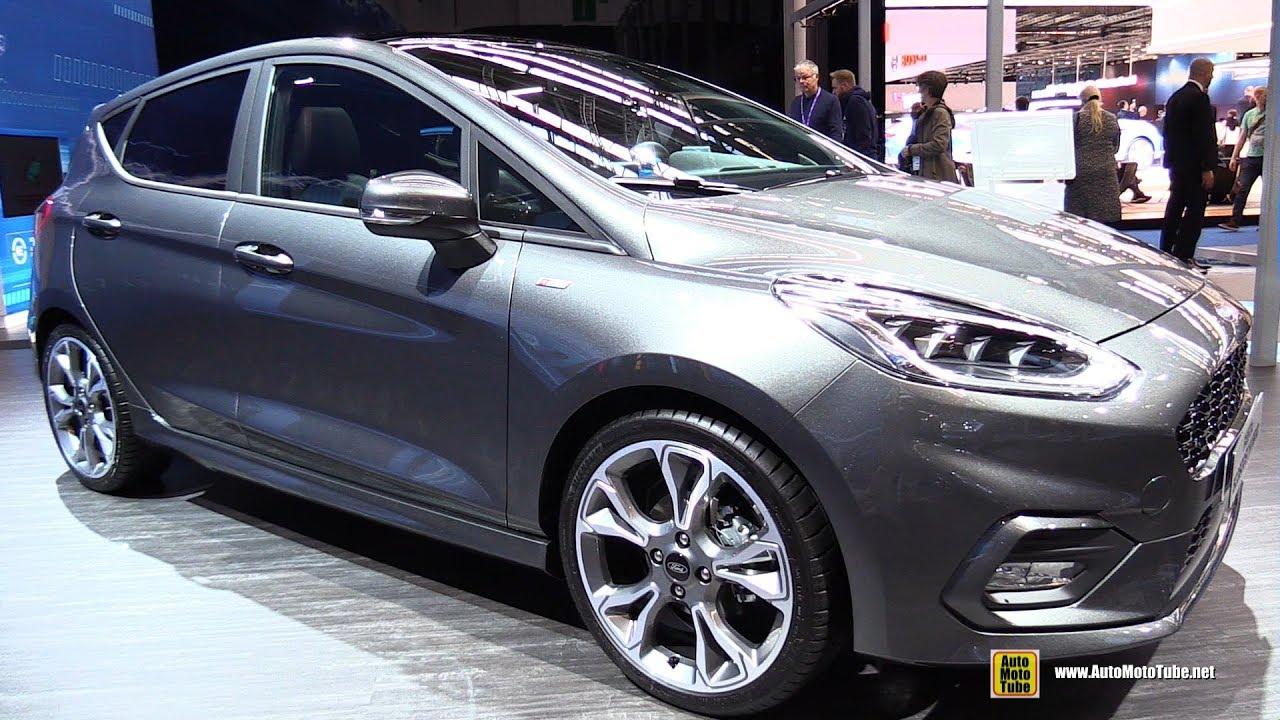 2020 Ford Fiesta Ecoboost Hybrid Exterior Interior Walkaround 2019 Frankfurt Motor Show Youtube