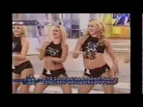 Loiras candidatas do tchan dançando ragatanga