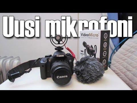 Uusi mikrofoni | Rode videomicro