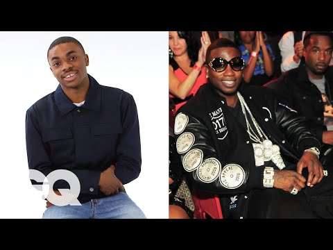 Vince Staples Reviews Rapper Chains from Kanye West, Tyga, T-Pain & More   GQ