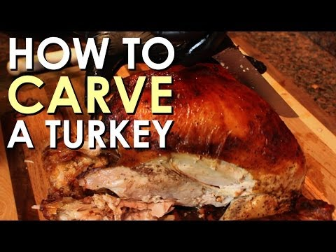 How to Carve a Turkey [VIDEO] | The Art of Manliness