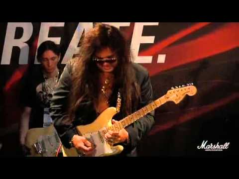 Yngwie Malmsteen for Marshall Amplifiers