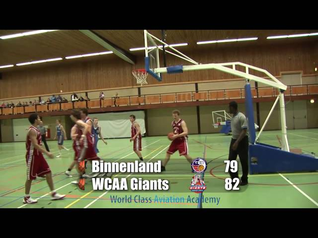 Binnenland U20 vs Giants U20