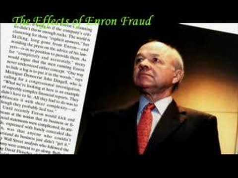 effects of enron scandal