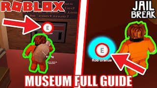 [FULL GUIDE] MUSEUM UPDATE in Roblox Jailbreak