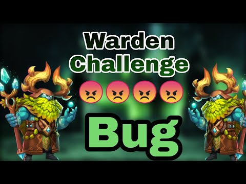 Another Bug | Warden Challenge | More Update More Bug | Castle Clash