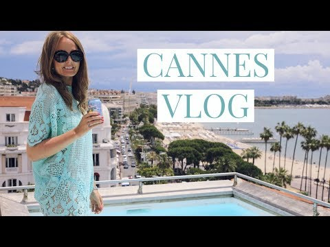 CANNES VLOG - Staying At Hotel Barrière Le Majestic