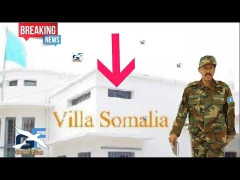 DEG DEG MD Farmaajo oo amar Culus so rogay madaxtoyada Villa somalia waxa lo raraya Afgooye Daawo