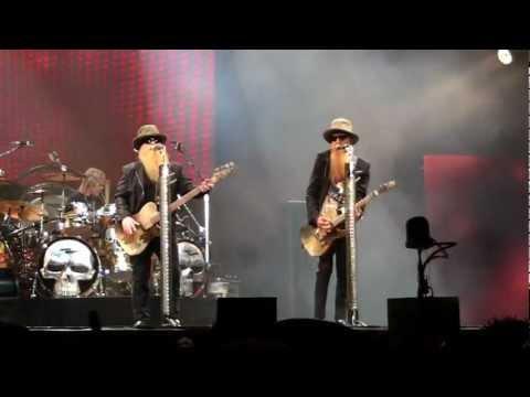 ZZ Top live Intro - Thunderbird Live Belgium Tienen 2012