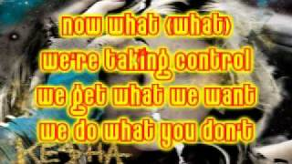 Kesha - Blow + Downloadlink mp3 Lyrics