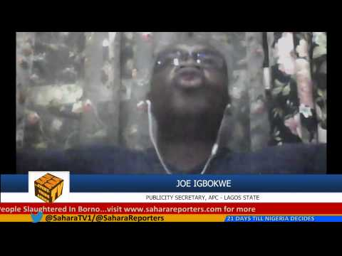 Pres. Jonathan Is Giving Money To Igbos In Lagos State To Influence Elections - Joe Igbokwe