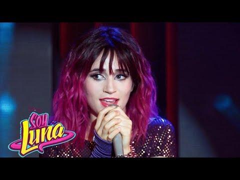 """Soy Luna - Nina (Felicity) canta """"Tengo un Corazón"""" en el Open Music - Capitulo 75"""
