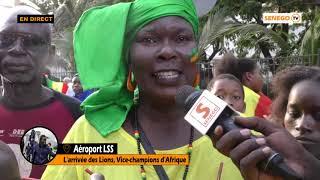 Retour des Lions: Regardez l'ambiance au palais présidentielle