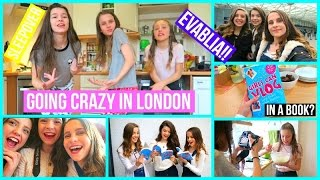 Going CRAZY In London with Evablia, Book Meeting & Sleepover! :Lifeasevie