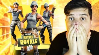 I PLAYED WITHOUT SKIN AT FORTNITE ‹ JUAUM ›