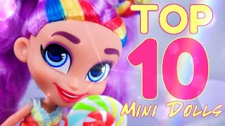 Top 10:  Best Mini Dolls RANKED - Hairdorables | American Girl Mini's | LOL Surprise & more