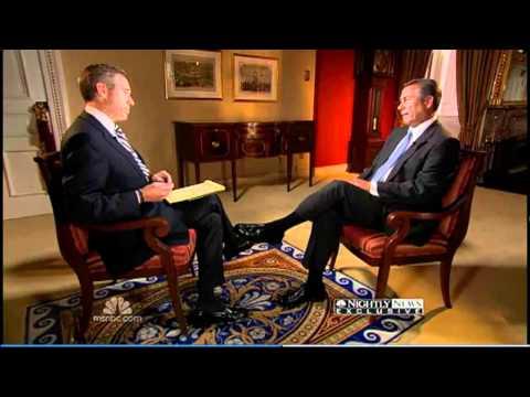 John Boehner-Brian Williams (SMOKING)