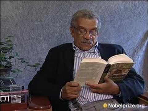Poem reading by Derek Walcott, Nobel Laureate in Literature