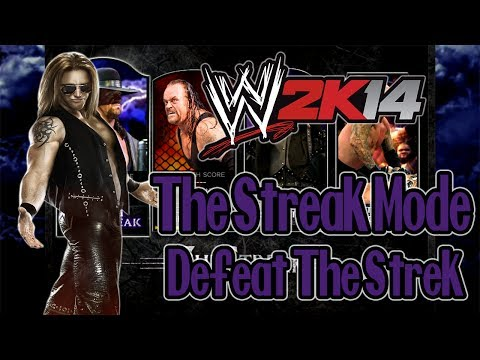 WWE 2K14 - The Streak: Defeat The Streak - Heath Slater - PT-BR