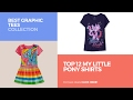 Top 12 My Little Pony Shirts // Best Graphic Tees Collection