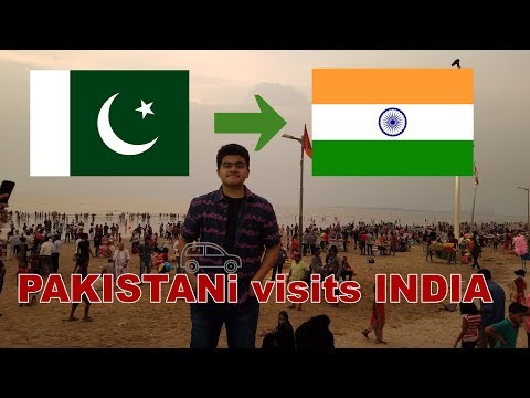 PAKISTANI VISITS INDIA (Mumbai travel vlog)