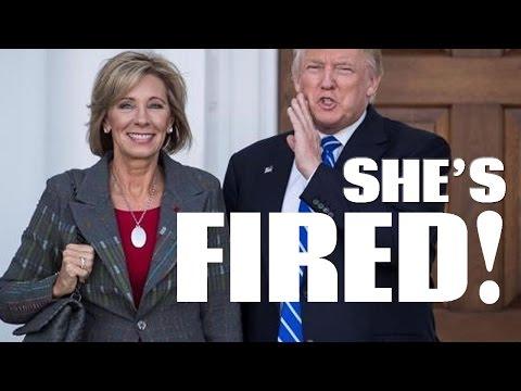Trump Education Secretary Pick Betsy DeVos Flunks Out