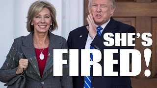 Why not Betsy DeVos for education secretary?