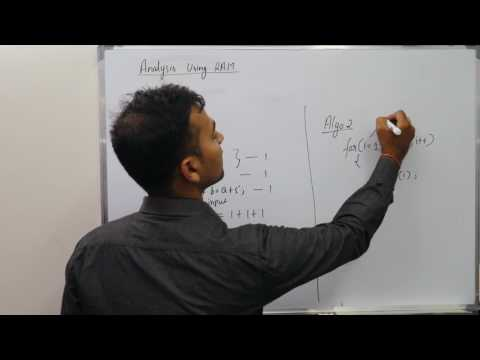 Lecture 2:  Algorithm Analysis-RAM model,  Design and Analysis of Algorithm