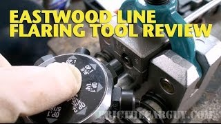 Eastwood Line Flaring Tool Review -EricTheCarGuy
