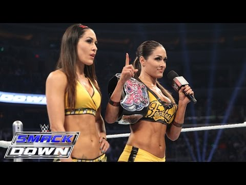 Brie & Nikki Bella comment on the Divas Division and the return of AJ Lee: SmackDown, March 5, 2015
